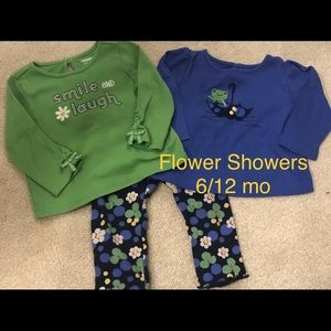 Gymboree Flower Showers Set